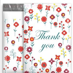 10x13 (10 Pack) Poly Mailers Shipping Bags Flowers